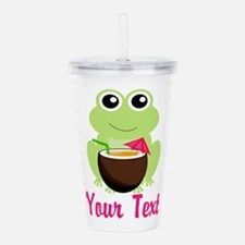 Personalizable Cocktail Frog Acrylic Double-wall T