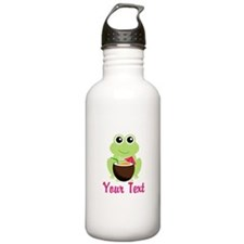 Personalizable Cocktail Frog Water Bottle