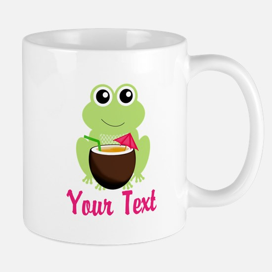 Personalizable Cocktail Frog Mugs