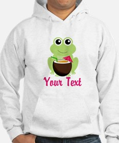 Personalizable Cocktail Frog Hoodie