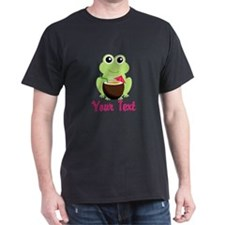Personalizable Cocktail Frog T-Shirt