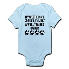 Well Trained Westie Owner Body Suit