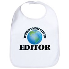 World's Most Clever Editor Bib