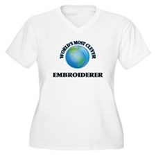 World's Most Clever Embroiderer Plus Size T-Shirt