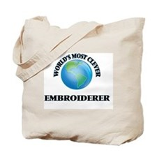 World's Most Clever Embroiderer Tote Bag