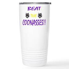 Funny Coonass Travel Mug