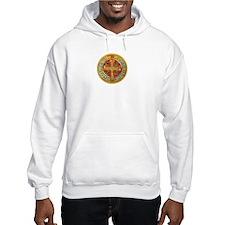 Unique Saint medal Hoodie