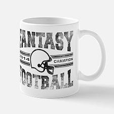 2014 Fantasy Football Champion - V Foot Mug
