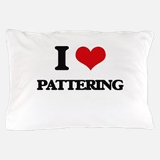 I Love Pattering Pillow Case