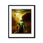 Green Drakkoman Framed Panel Print