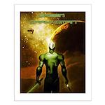 Green Drakkoman Small Poster