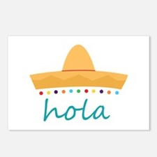 Hola Hat Postcards (Package of 8)