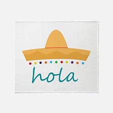 Hola Hat Throw Blanket