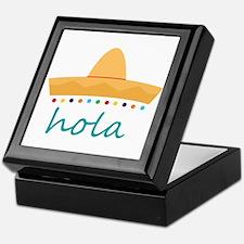 Hola Hat Keepsake Box
