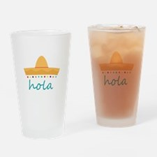 Hola Hat Drinking Glass
