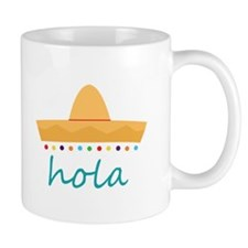 Hola Hat Mugs