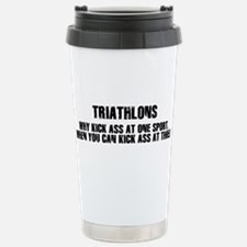 Unique Ironman Travel Mug