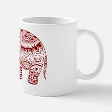 Unique Red elephants Mug
