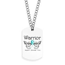 Cervical Cancer Warrior Dog Tags
