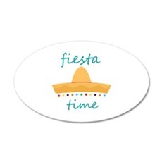 Fiesta Time Hat Wall Decal