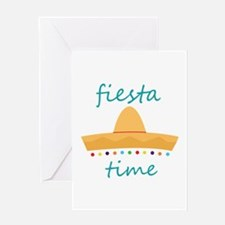 Fiesta Time Hat Greeting Cards
