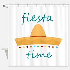 Fiesta Time Hat Shower Curtain