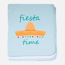 Fiesta Time Hat baby blanket
