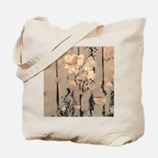 Abstracted Faded Leaves Tote Bag