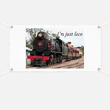 I'm just loco: Pichi Richi train, South Aus Banner