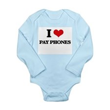 I Love Pay Phones Body Suit