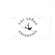 """Las Leñas"" Argentina Funny Falling Skier Aluminum"
