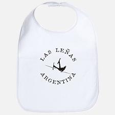 """Las Leñas"" Argentina Funny Falling Skier Bib"