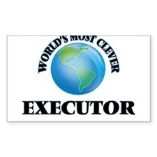 World's Most Clever Executor Decal