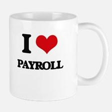 I Love Payroll Mugs