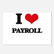 I Love Payroll Postcards (Package of 8)