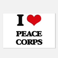 I Love Peace Corps Postcards (Package of 8)