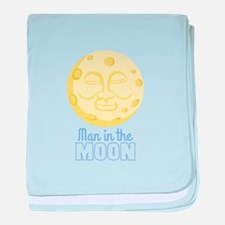 Man In The Moon baby blanket