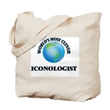 World's Most Clever Iconologist Tote Bag