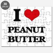 I Love Peanut Butter Puzzle