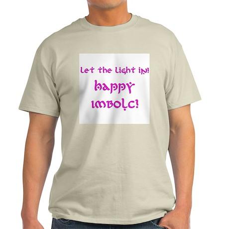Let the Light In 8 Light T-Shirt
