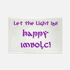 Let the LIght In 9 Rectangle Magnet