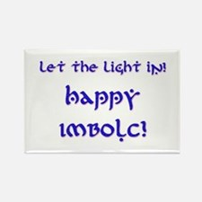 Let the Light In 10 Rectangle Magnet