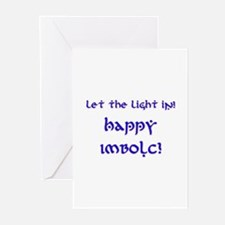 Let the Light In 10 Greeting Cards (Pk of 10)