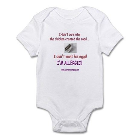 #2 Egg Allergy t-shirt & accessories Body Suit