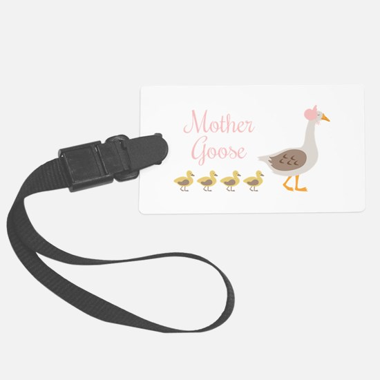 Mother Goose Luggage Tag