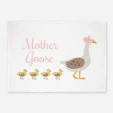 Mother Goose 5'x7'Area Rug