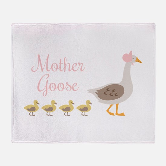 Mother Goose Throw Blanket