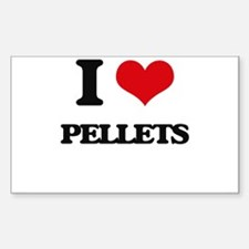 I Love Pellets Decal