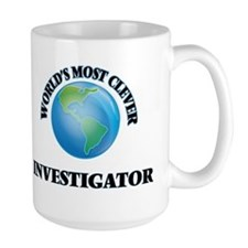 World's Most Clever Investigator Mugs