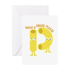 macaroni_mac and cheese please Greeting Cards
